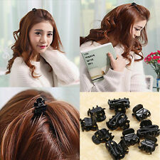 10*Pinces à Cheveux Accessoires bébé adultes griffes durable fixation noir chaud
