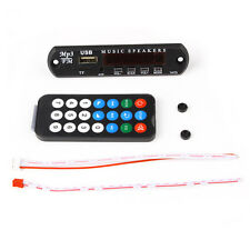 12V Car MP3 Decoder Board Audio Module USB SD TF FM Radio with Remote Control