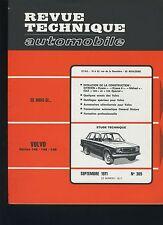 (30B) REVUE TECHNIQUE AUTO VOLVO 142-144-145 / FIAT 124/ CITROEN DYANE MÉHARI