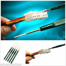 5×Car Wire Terminal Socket Pin Removal Dismount Tool Titanium Alloy Maintenance