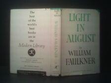 Light In August-Faulkner 1959 MODERN LIBRARY, Hardcover w DJ