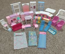Vintage 1980 1990 2000 Barbie Furniture and Accessory 36 piece lot