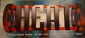 heat 15.5.98 @ hastings pier rave flyer