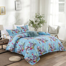 Animal Floral Doona/Duvet/Quilt Covers Set Single/Double/Queen/King All Size Bed