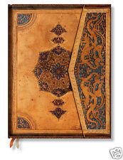 Paperblanks Lined Writing Journal Gold Teal Safavid Design Ultra Size 7x9 New