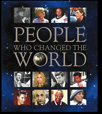 GENUINE People Who Changed The World Book   Superfast Shipping!!