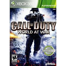 Call of Duty: World at War - Platinum Hits Xbox 360 [Brand New]