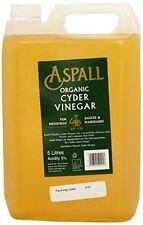 Aspall Raw Organic Unfiltered Cyder Vinegar 5 Litre