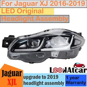 2016-2019 Jaguar XJ XJL LED Original Headlight Full Origin Headlamp Used RIGHT