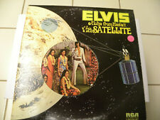 Double LP Set Elvis,Aloha from Hawaii Quadra Disc Near MintRCA VPSX-6089-2