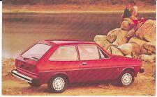 """1979Fiesta 3-Door Hatchback With Ghia Group Option"" Postcard *Free Us Ship"