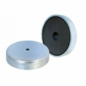 Eclipse Magnetics Neodymium Shallow Pot Magnet with Countersunk Hole 32mm E877