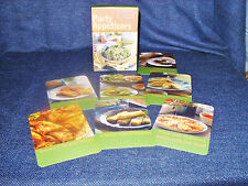 Party Appetizers:50 Easy-To-Make Party Pleasers Recipe Cards New (other) in Box