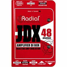 Radial Engineering JDX 48 Active Guitar Amp Direct Box NEW! Free 2-DAY DELIVERY!