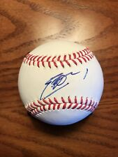 Eric Hosmer Kansas City Royals Autographed Signed Rawlings Official Baseball