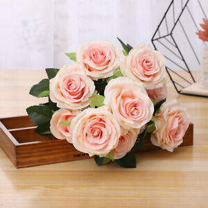 Champagne Silk Roses In Floral Décor For Sale In Stock Ebay