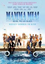 MAMMA MIA 2: HERE WE GO AGAIN - Orig.Groß-Kino-Plakat A0 - Meryl Streep -gerollt
