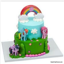 My Little Pony Cake Topper Decoration Supplies Birthday Pinkie Pie Cupcake Jumbo