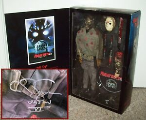 """Jason Lives SIGNED Exclusive Sideshow 12"""" Figure Friday the 13th Part 6 Voorhees"""