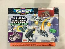 Vintage Star Wars MicroMachines Ice Planet Hoth play set, FREE shipping! 65872