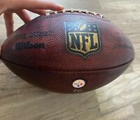 Auth Game Used NFL Antonio Brown TD Catch 2016 Thanksgiving MVP Steelers Colts