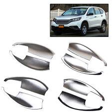 For Honda Cr-v Crv 2012 - 2015 Car Chrome Exterior Door Handle Bowl Cover Trim
