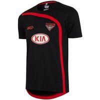 Essendon Bombers 2017 AFL Black Training Shirt Sizes S-5XL BNWT