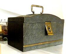 Artdeco Schatzkiste Briefkiste Sammlerkiste Schatulle Blechkiste Schatulle 1920