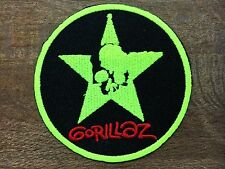 """New Gorillaz Embroidered Iron On Neon Skull Logo Badge Patch 3"""""""