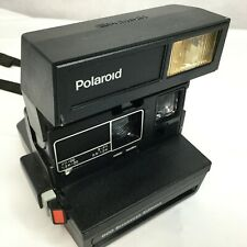 Vintage Polaroid 600 Camera Business Edition Instant Film Flash Working