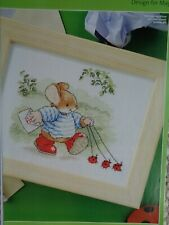 Country Companions Tom Mouse walking the ladybirds cross stitch chart
