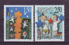 Bos. Serbien CEPT 2000 Satz **  120€ Michel. selten, fehlt in d. meisten Samml.