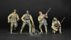 (Pre-Order) US Rangers Normandy 1944 WWII 1:35 Pro Built Model