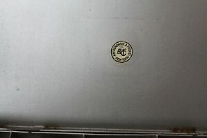 A vintage1947Abercrombie & Fitch NY  23 compartment Japanned Tin Fly Box full