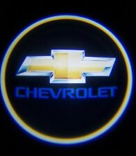 2PCS CHEVROLET LED Rechargeable Car Door Projector Shadow Laser Light Logo