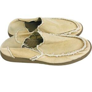 Crocs Mens Loafers Shoes Beige Slip-On Moc Toe 13