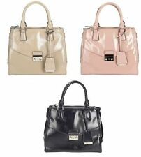 Clarks Zip Patternless Handbags with Inner Pockets