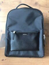 Samsonite Zalia Backpack Business Black Travel Fit Laptop Excellent Condition