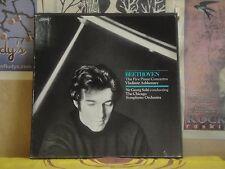 BEETHOVEN 5 PIANO CONCERTOS, ASHKENAZY - LONDON 4 LP 70-5634