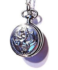 FULLMETAL ALCHEMIST Ed's Pocket Watch necklace replica anime cosplay prop G1