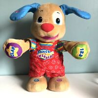Fisher Price Laugh & Learn Dance & Play Puppy Soft Toy Alphabet Numbers Songs
