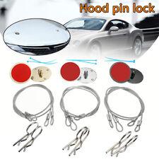 Universal CNC Car Racing Billet Bonnet Hood Pin Lock Appearance Kit Set Aluminum