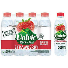 VOLVIC WATER TOUCH OF FRUIT STRAWBERRY/ORANGE & PEACH/LEMON & LIME/SUMMER FRUITS