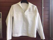 US NAVY LADIES WHITE DRESS JUMPER TOP CRACKER JACK SAILOR UNIFORM Size 14t
