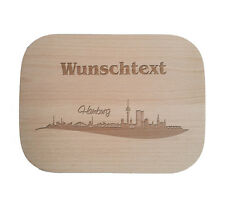 Frühstücksbrettchen nach Wunsch / Holz / Buche / Menschen