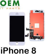 "For iPhone 8 4.7"" LCD Display Touch Screen Digitizer Genuine Assembly White New"