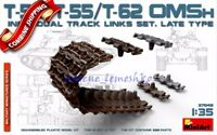 "Miniart 37048 ""T-54, T-55, T-62 Omsh Individual Track Links Set. Late Type"" 1/35"