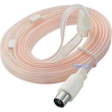 Indoor FM VHF Antenne FM radio hi-fi dipôle ruban antenne + Gratuit Câble Coaxial Adaptateur