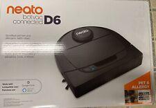 NEW Neato Robotics 945-0308 Botvac D6 Connect Vacuum Cleaner - Black