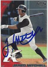 Jared Mitchell 2010 Topps Pro Debut Signed Card